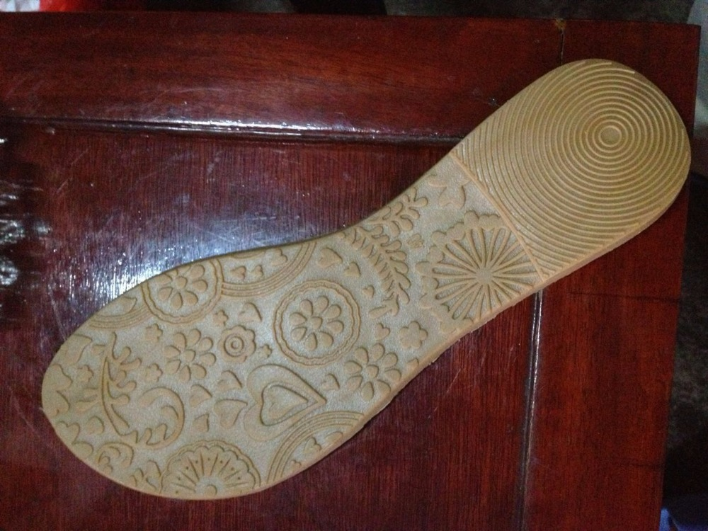 Popular Abrasion Resistant durable tpr outsoles for slipper