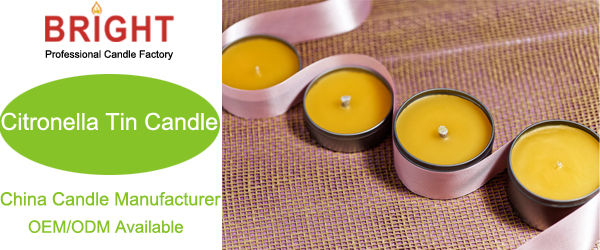 Classic Home Fragrances For Gift Ideas Soy/Paraffin Wax Tin Candles