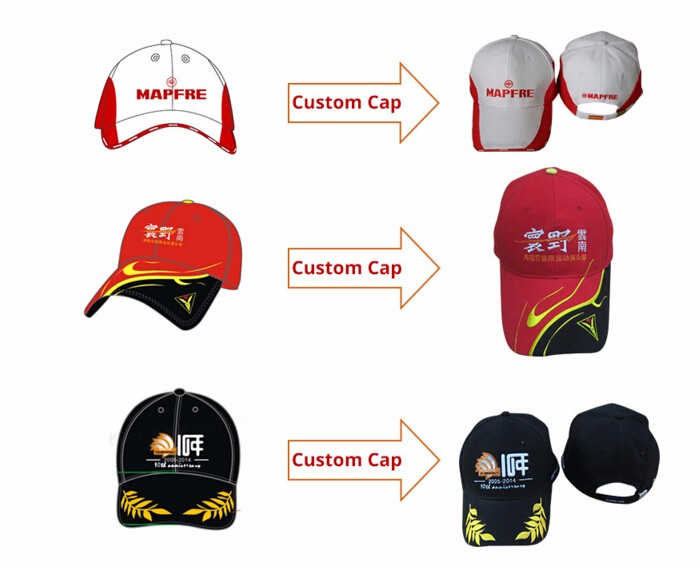 3566a44183898 Custom Cartoon One Piece Black Red Embroidery On Front 5-panel ...