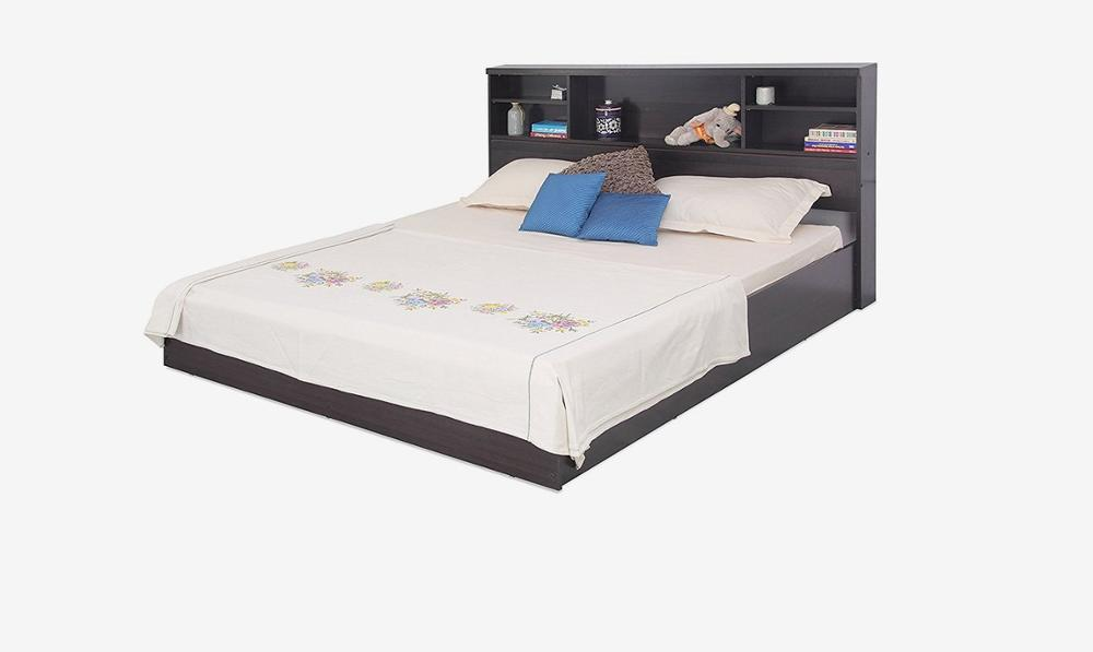 modern king size mdf wooden double bed set with headboard storage buy wooden double bed product on alibaba com