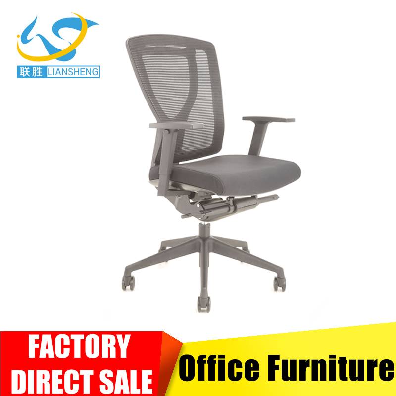 Foshan furniture Luxury style manager chair with Italy strong frame ergonomics office chair