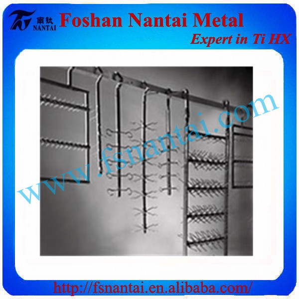 Titanium Plating Racks Anode for Galvanization Line