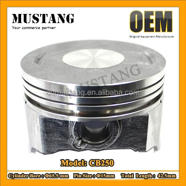 Motorcycle Cylinder Kit Motorcycles Piston for CB250
