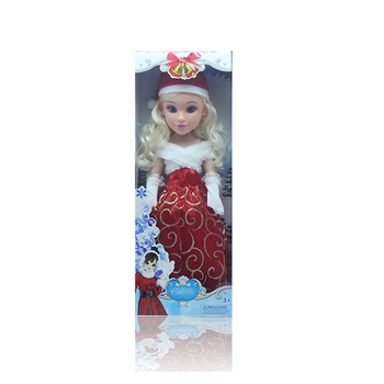 beautiful gril toys christmas doll with light - Animated Christmas Dolls