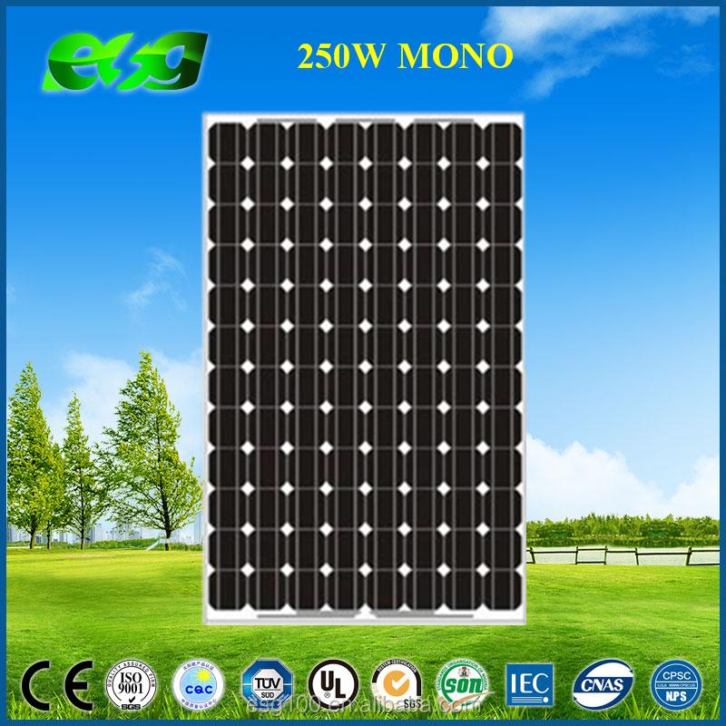 chine meilleur fournisseur de pv esg mono 260 w 250 watt 300 watt photovolta que panneau solaire. Black Bedroom Furniture Sets. Home Design Ideas