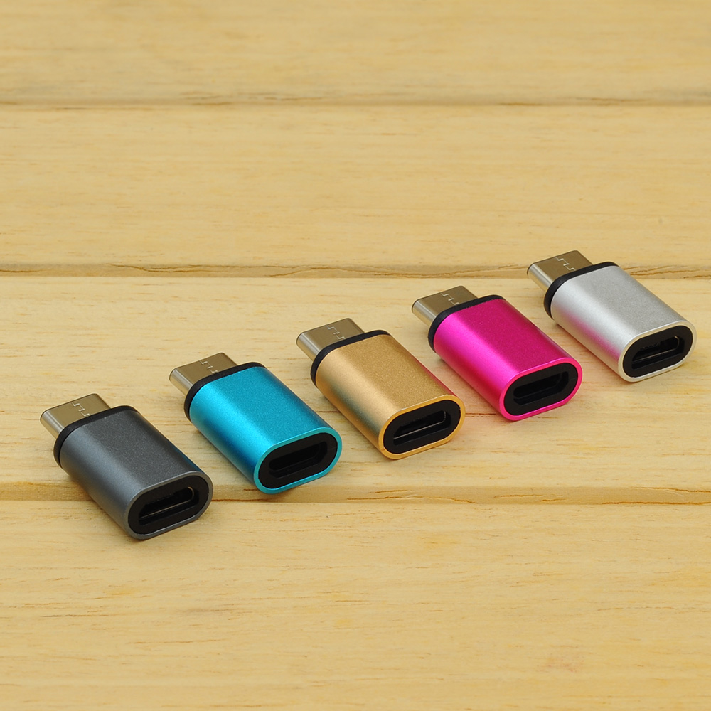 PNGXE aluminum alloy micro usb type a to type c adapter OTG