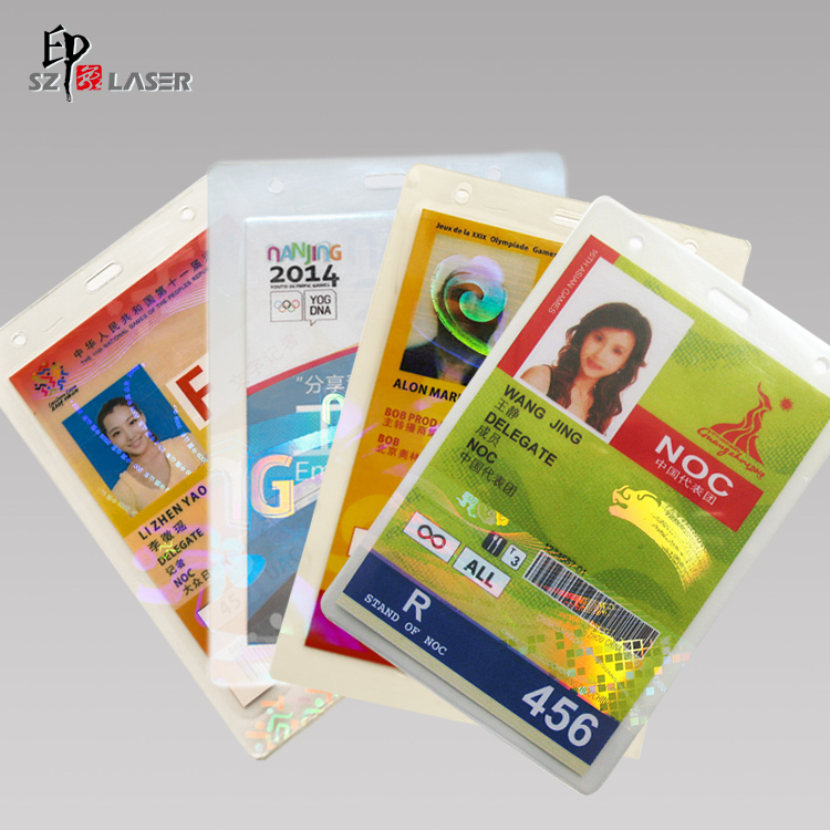 Panas Segel Hologram Laminating Pouch Film