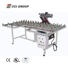 EM80-WT Factory Supply Insulating Glass Edge Belt polishing and grinding Machine