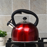 3 L Aluminum Outdoor Whistling Kettle, Camping Water kettle