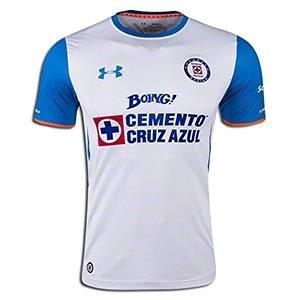 e003ac550ac Get Quotations · Under Armour Cruz Azul Away Jersey 15 16