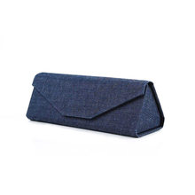 Custom color china supplier Jeans folding glasses case