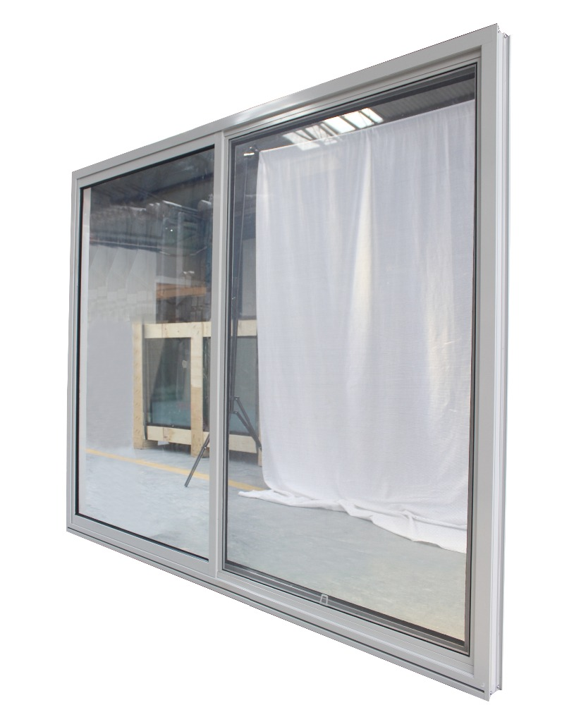 Superwu vertical sliding window image AS2047 sliding office window frame