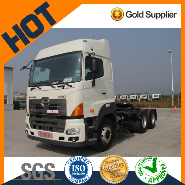 Hino 6*4 380hp Hino 6*4 380hp cheap trailer tractor heads for sale YC4250SS2PK4