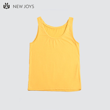 Yellow Off The Shoulder Sleeveless Hot Girl Sexy  Cotton Women Camisole Tank Top Vest