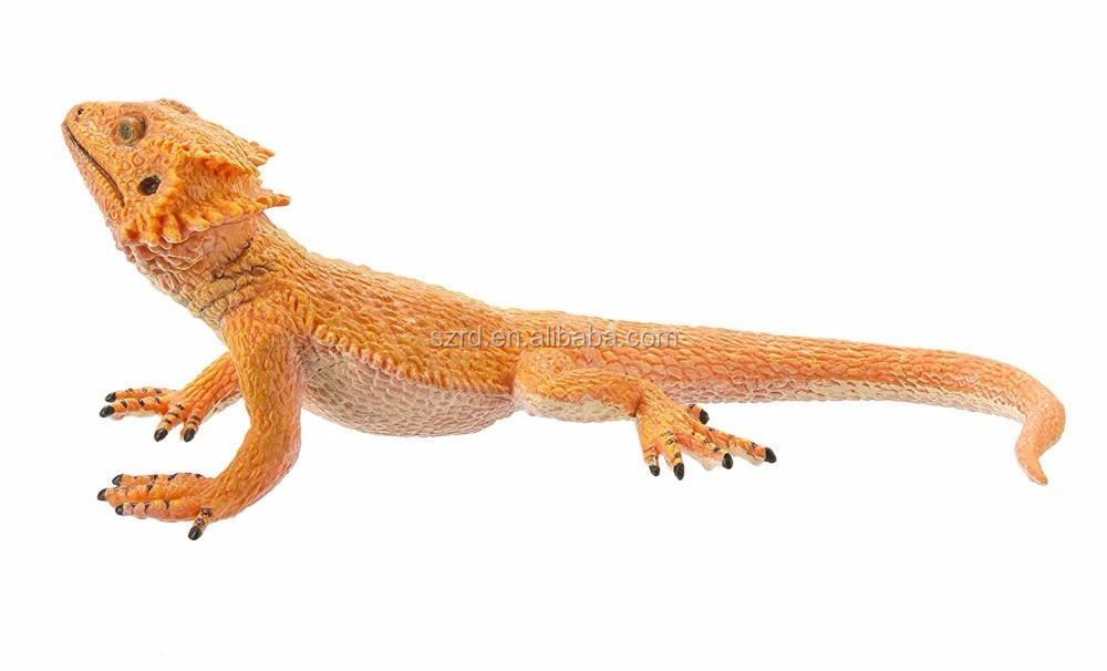 Increíbles Criaturas Dragón Barbudo Resina Figura De Acción Para Los ...