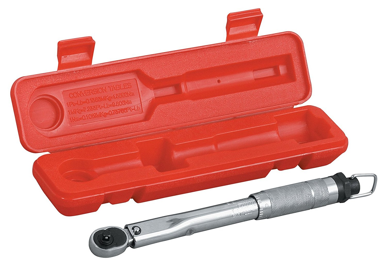 TEKTON 2432 1/4-Inch Drive Click Torque Wrench, 20-200 Inch/Lb.