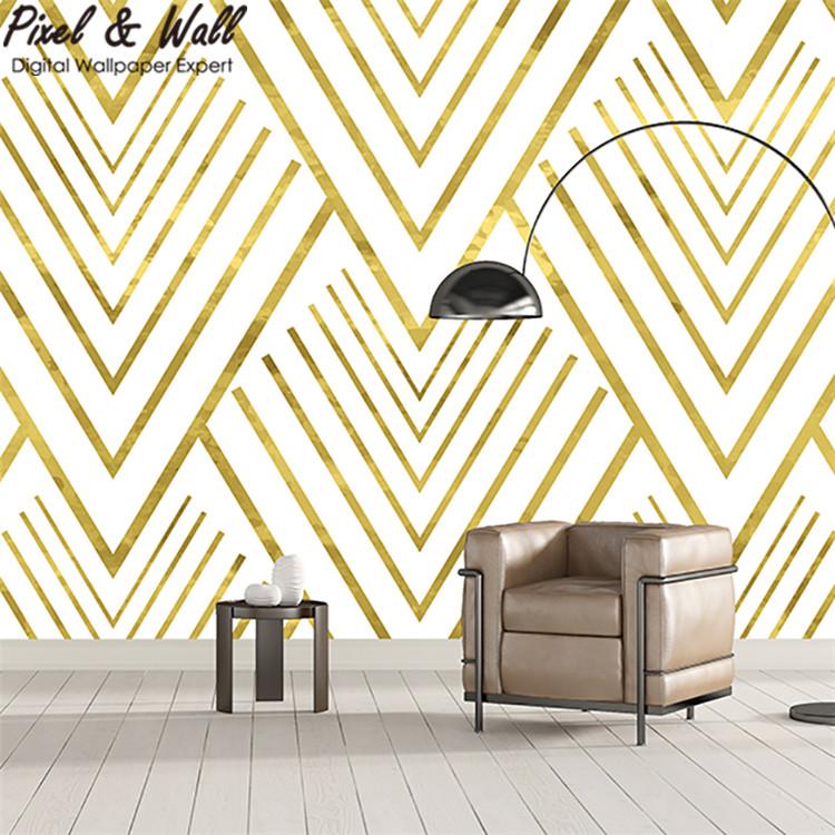 Venta al por mayor diseños de rayas para paredes-Compre online los ...