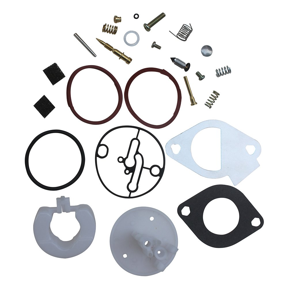 KIPA Carburetor Rebuild Kit Master Overhaul For Briggs & Stratton Nikki Carbs 796184 698787 790032 699900 699521 792369 698777 699813 692138 698781 Craftsman 11HP To 19HP Engines Carburetor Rebuild