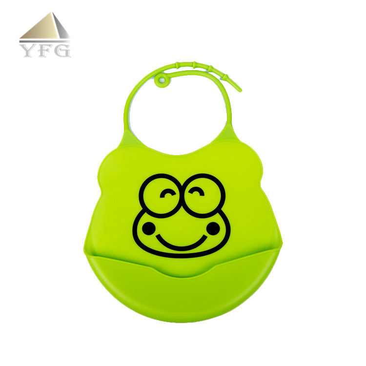 Top sale for eco-friendly silicon baby bib silicone