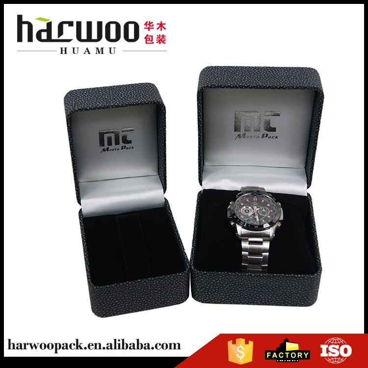 Harwoo brand box watch superior quality small box custom leather watch box