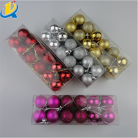 Factory sale good quality cheap clear plastic Christmas ornaments ball