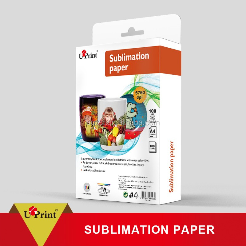 Cheapest Good Printing Effect Inkjet Printing Paper 3D A4 Dye Sublimation Paper