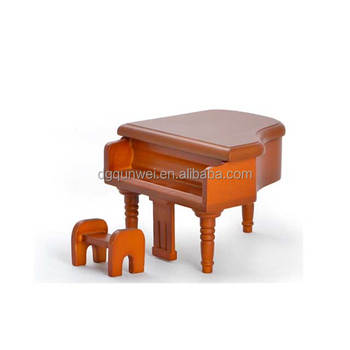 Fantastic Dollhouse Furniture Miniature Vitage Victorian Upright Baby Grand Piano Stool Bench Mahogany Wood 1 12 Buy 1 12 Black Grand Piano With Stool Ocoug Best Dining Table And Chair Ideas Images Ocougorg