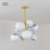 Contemporary ceiling chandelier pendant light modern interior decoration hanging lighting lamps