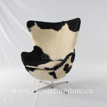 Delightful High Quality Egg Chair Cow