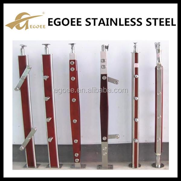 China Supplier Stainless Steel Glass Balcony Railing,Glass Inox ...