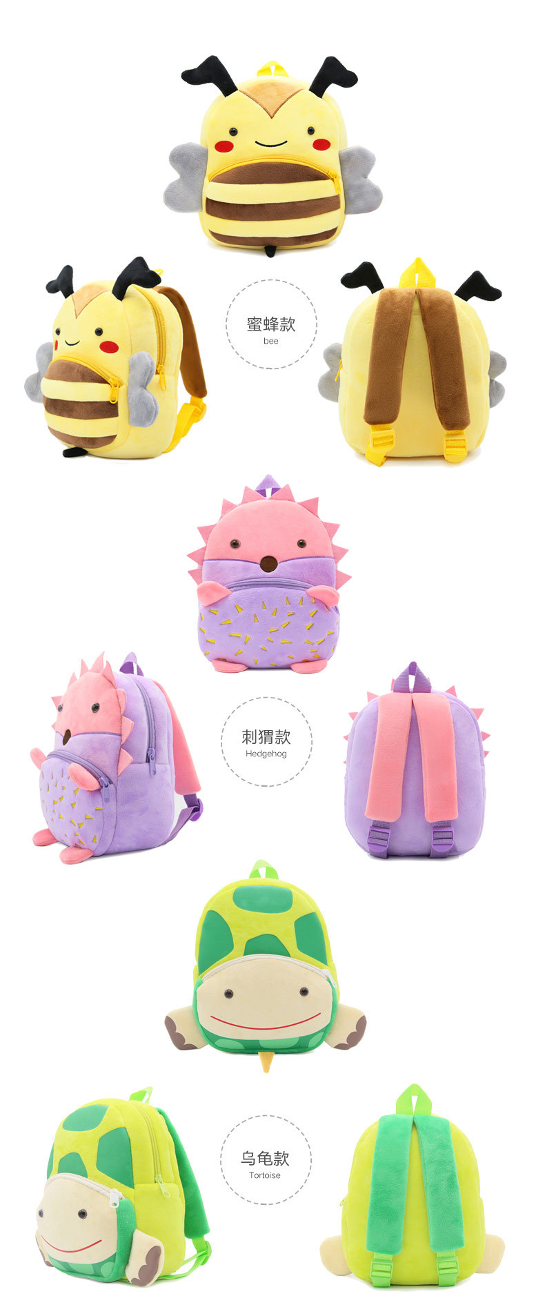Osgoodway12  New Products 33 Styles Animal Series Backpack for Children Orthopedic Kid Backpacks Shark School Bag