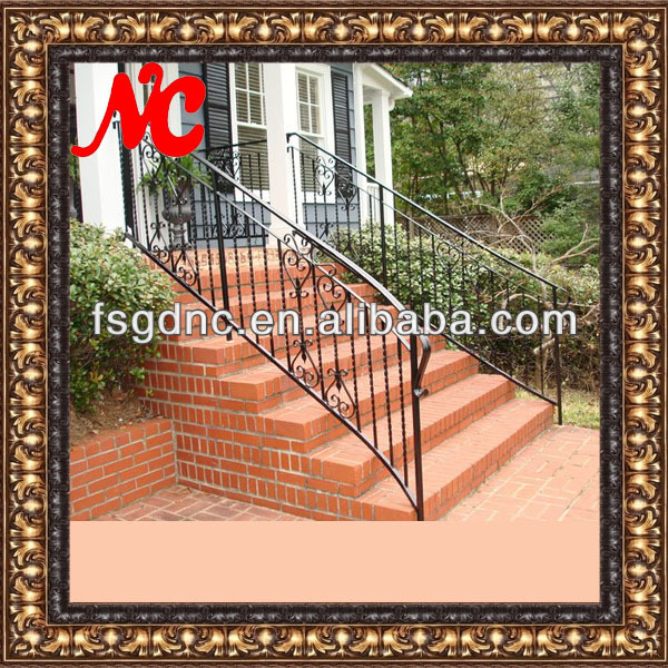 Outdoor Wrought Iron Stair Railing Outdoor Wrought Iron Stair Railing Suppliers And Manufacturers At Alibaba Com