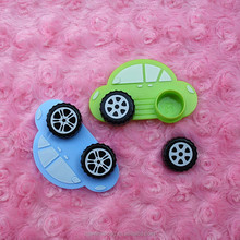 Fashion car-shaped colored contact lenses box contact lens case glasses color double-box