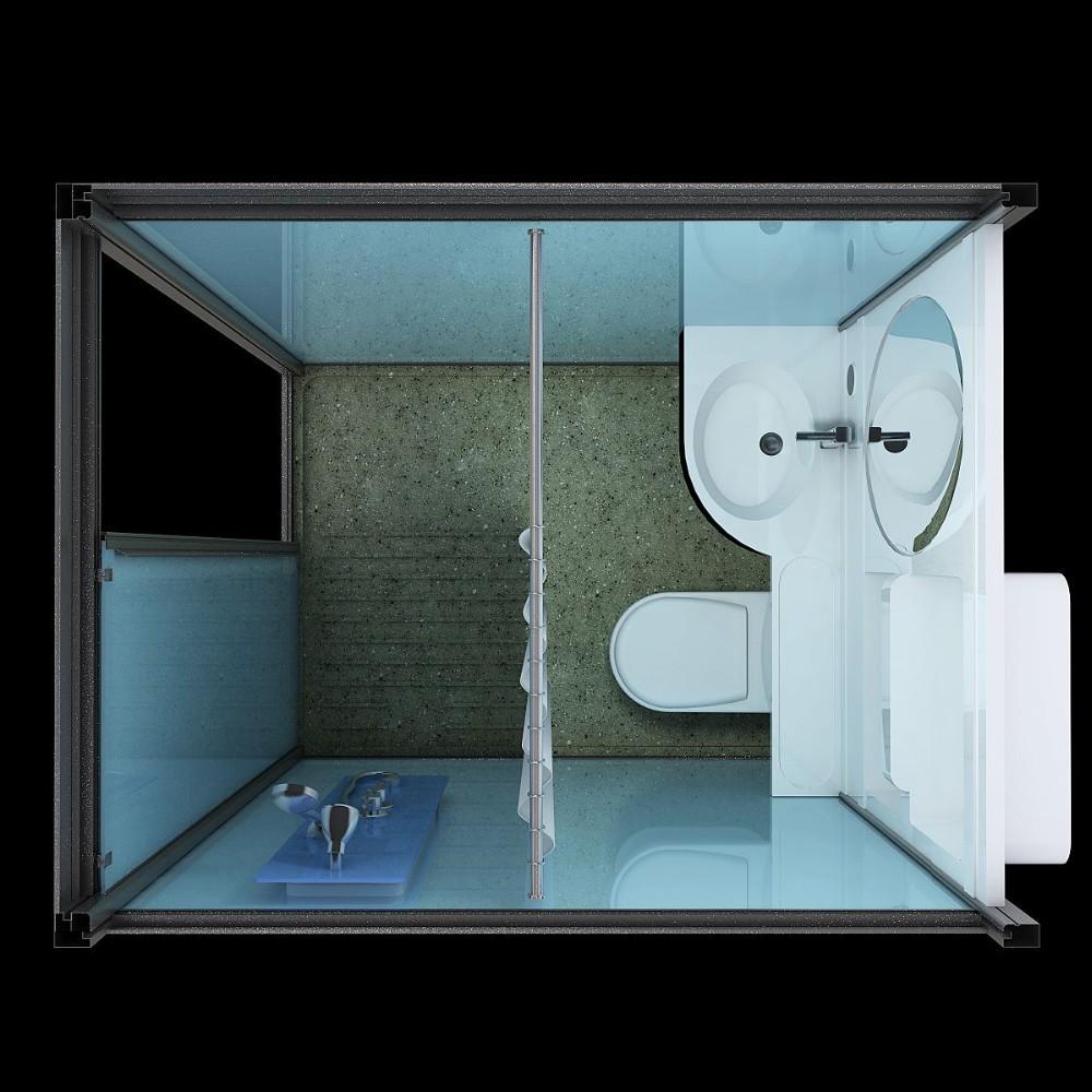 in voorraad! sunzoom geprefabriceerde badkamer, prefab badkamer, Badkamer