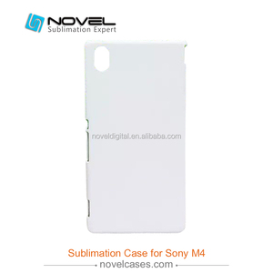Hot sale!!! sublimation cell phone cases printing mold for sony M4, mould for sublimation