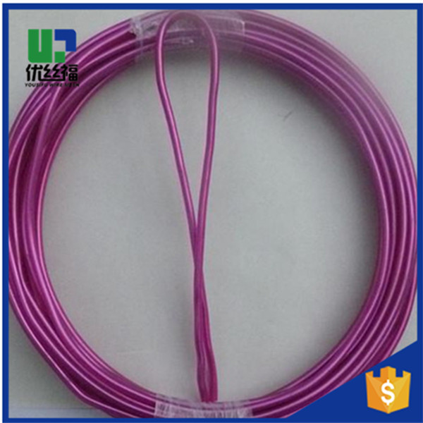 China manufacturer Q195 mild steel plastic coated wire for fence