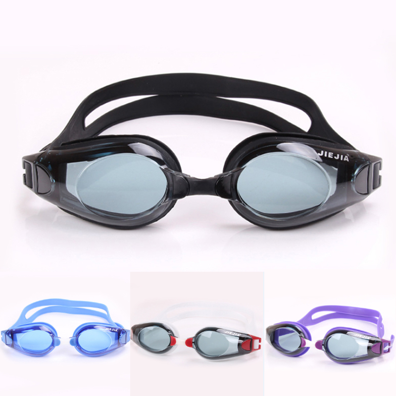 Jiejia Adult men Women Anti-fog Waterproof UV Protection Swimming Goggles Swimming Glasses Professional Water Sports Accessory