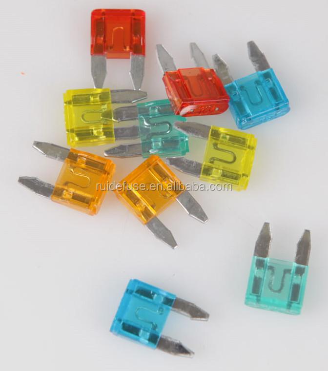 Mini Plug In Fuses Mini Blade Fuses Car Fuse Buy Car Fuse Mini