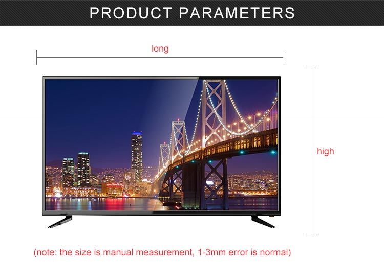 New model big size cheap price glass model LED TV ledwith high design
