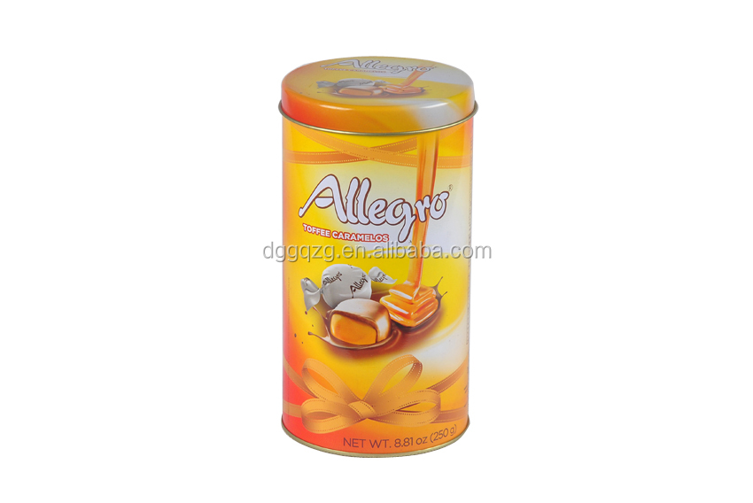 food industrial use and embossing stamping varnishing printing handing round tin box