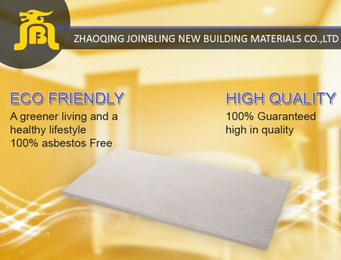 Light Steel Structure Buildings 20 mm Load Bearing Fireproof Thermal Insulation Fiber Cement Flooring Board