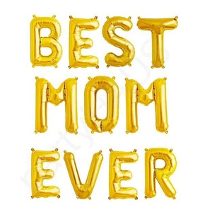 best mom ever foil balloons set mother day balloons letter balloons for party decoration