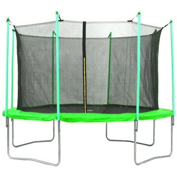 Baoxiang CE 10ft garden Outdoor Jumping Trampoline bed(4 Legs) with inside Enclosure Safety Net
