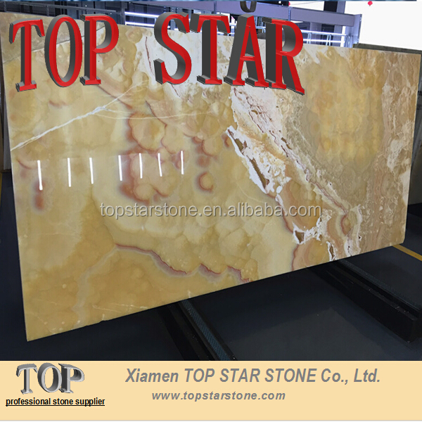 Sunset Cloud Rainbow Pineapple Onyx Marble Cheap Price for flooring tile