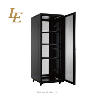 18U 22U 27U 37U 42U 45U 19 inch Data Center Network rack cabinet with mesh door