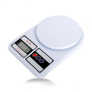 CE ROHS 3KG 5KG 7KG ABS plastic digital sf 400a manual kitchen scale OEM
