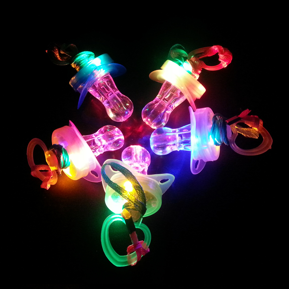 Baby toys Luminous led whistle pacifier