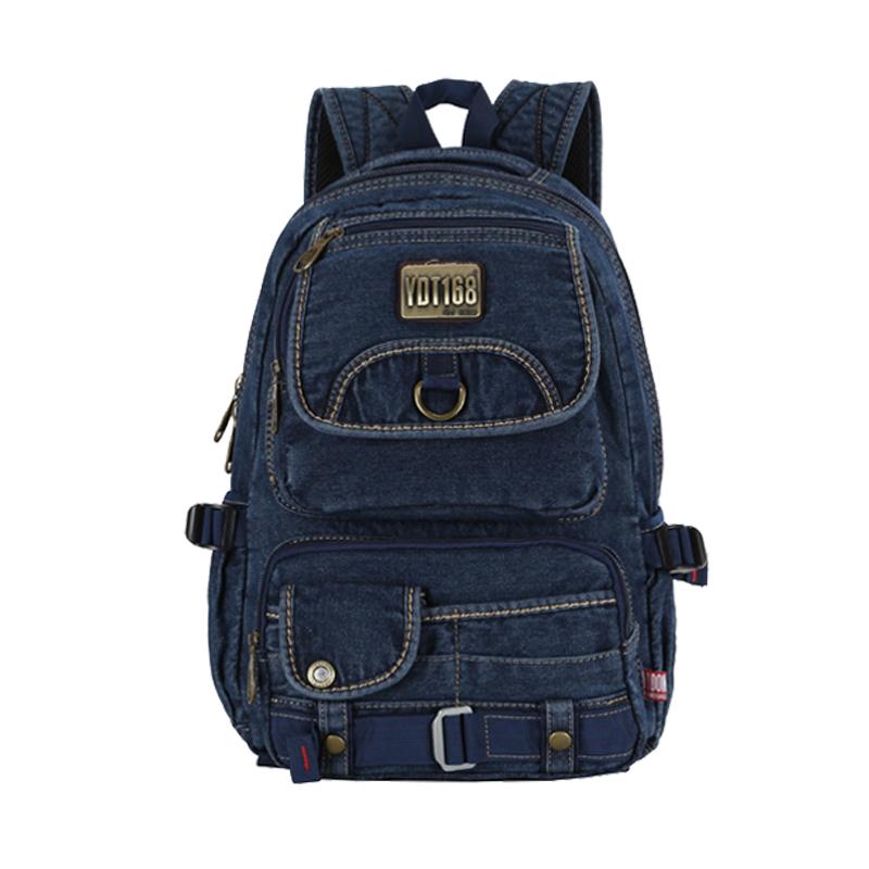 Get Quotations · Promotion large capacity canvas bag men backpack men s  travel bags vintage jean men s backpacks laptop school af8474dc1e