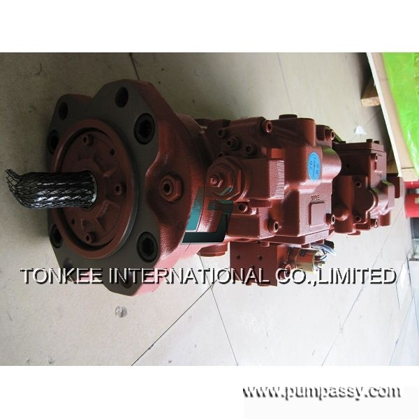 Kawasaki K3V112DT гидравлический Главная насос для экскаватора Като HD700-7