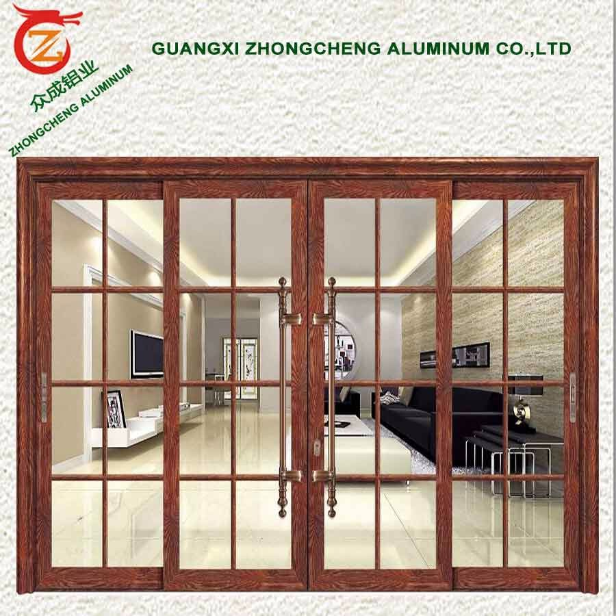 Residential Cost Effective Villa Entry Door For Aluminum French Doors Exterio